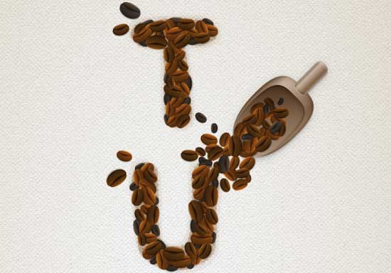 Coffee-Beans-Text-Effect
