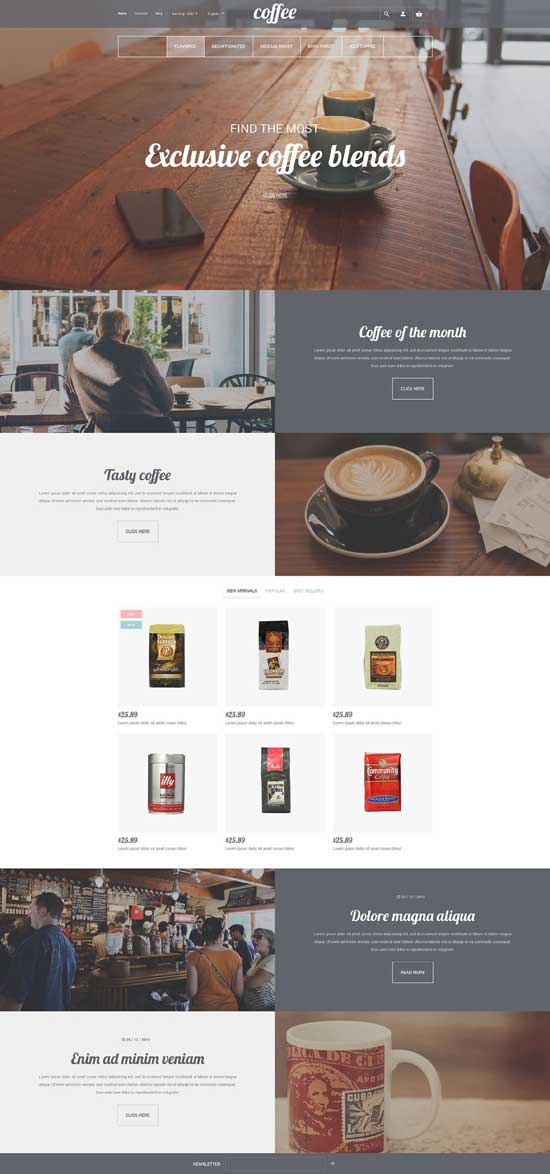 Coffee-House-PrestaShop-Theme