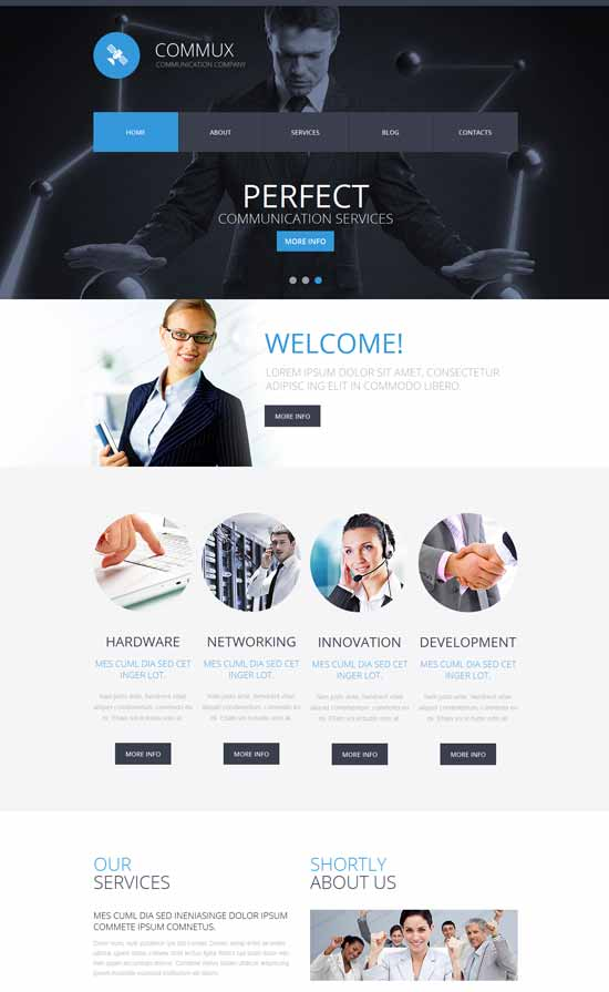 Commux-IT-Company-Responsive-Website-Template