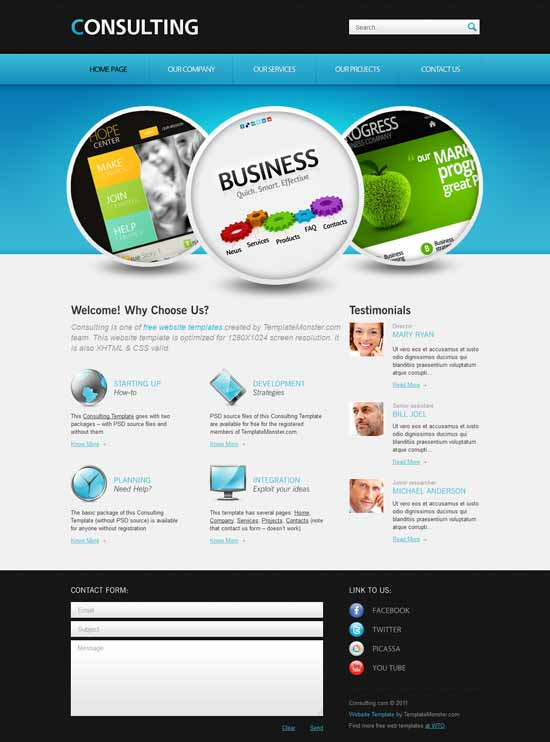 Consulting-Free-Consulting-Website-Template