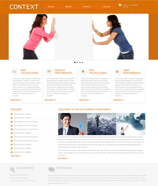 Context-Free-Business-Web-template