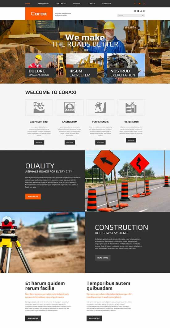 Corax-Website-Template