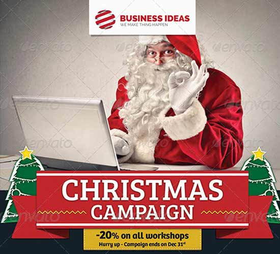 Corporate Business Christmas-Flyer