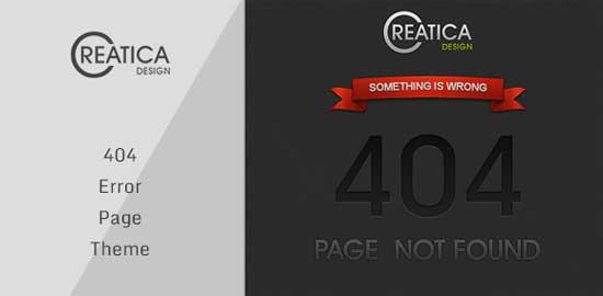 Creatica-404-Error-Theme