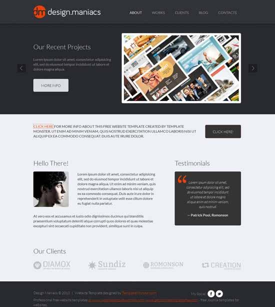 Creative-Free-Design-Studio-Website-Template