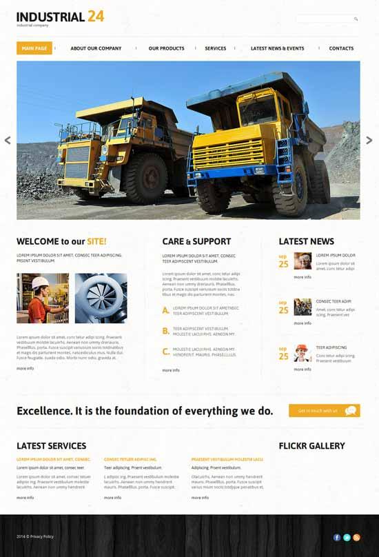 Creative-Industrial-Joomla-Template