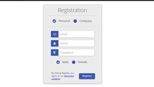 Css-Registration-Form