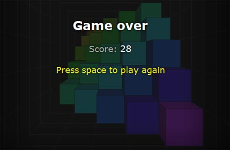 game in 3D HTML5