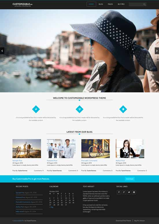Customizable-Free-Wordpress-Theme-with-Bootstrap