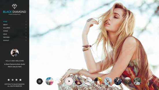 DIAMOND-Photography-WordPress-Theme