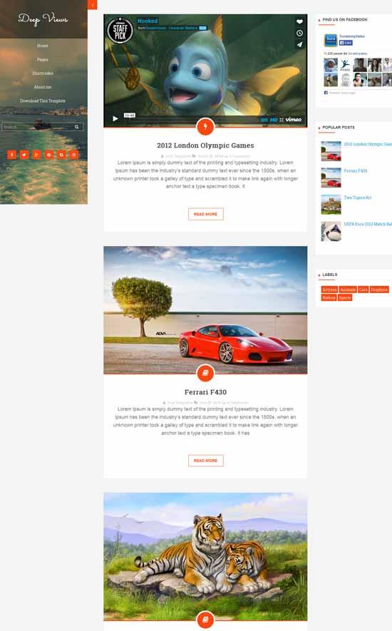 Deep-Views-Blogger-Template-Free-Download
