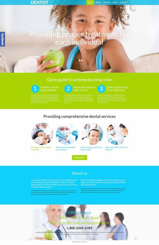 Dental-Clinic-Responsive-WordPress-Theme