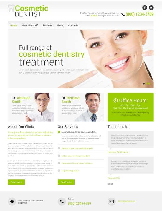 Dentistry-Responsive-Website-Template
