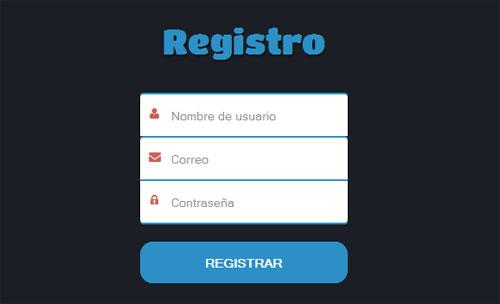 Design-register-pure-CSS