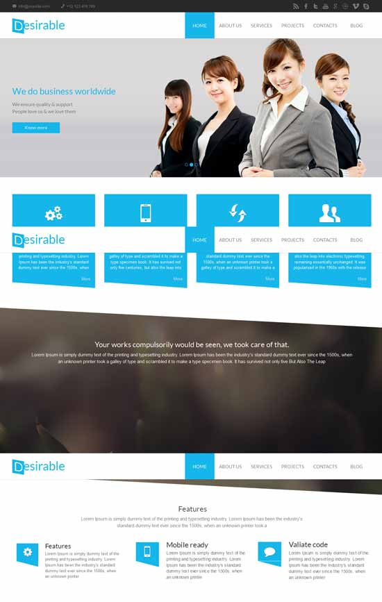 Desirable-Multi-Purpose-HTML5-Business-Template
