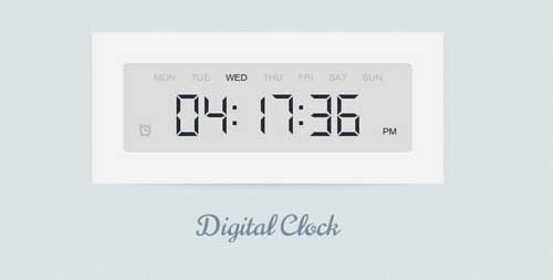 Digital-Clock-with-jQuery-and-CSS3