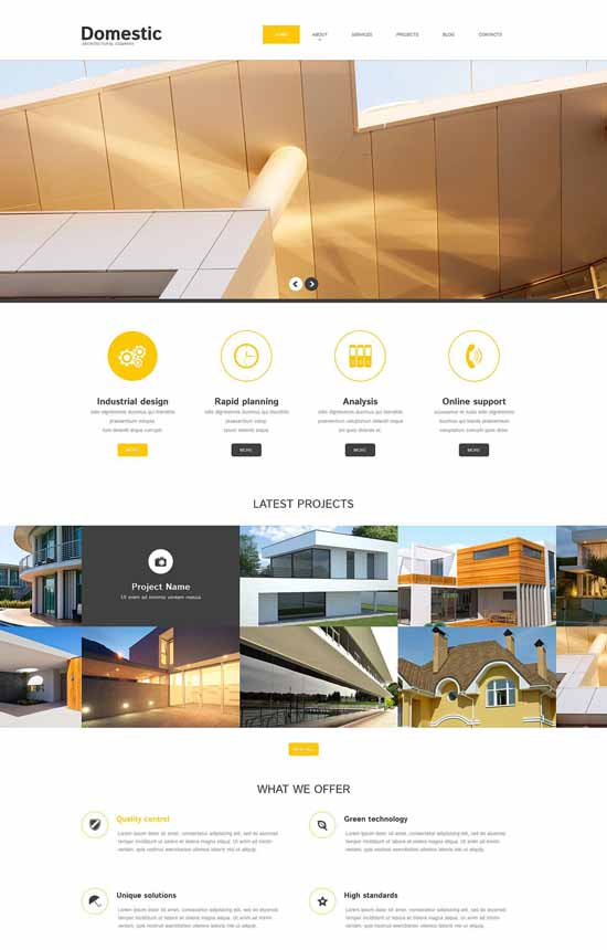 Domestic-Architecture-Responsive-WordPress-Theme