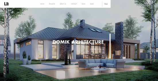 Domik-Responsive-Architecture-Template