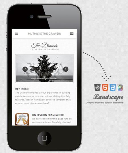 Drawer-Mobile-Retina-WordPress-Version