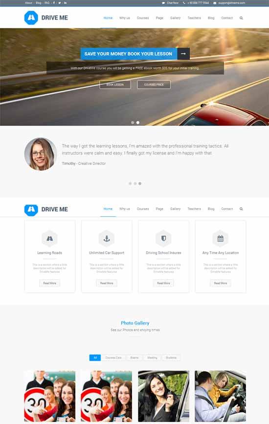 Driveme-Driving-Class-School-WordPress-Theme