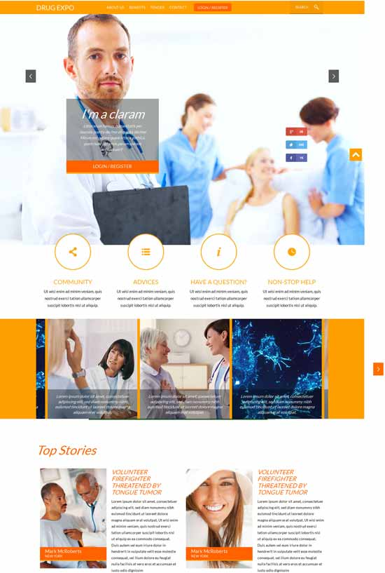 Drug-Expo-Medical-Responsive-template
