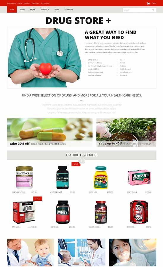 Drug-Pharmacy-store-WooCommerce-Theme
