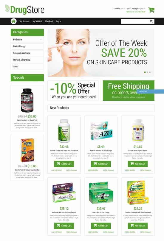 Drug-store-Medicine-Responsive-Magento-Theme