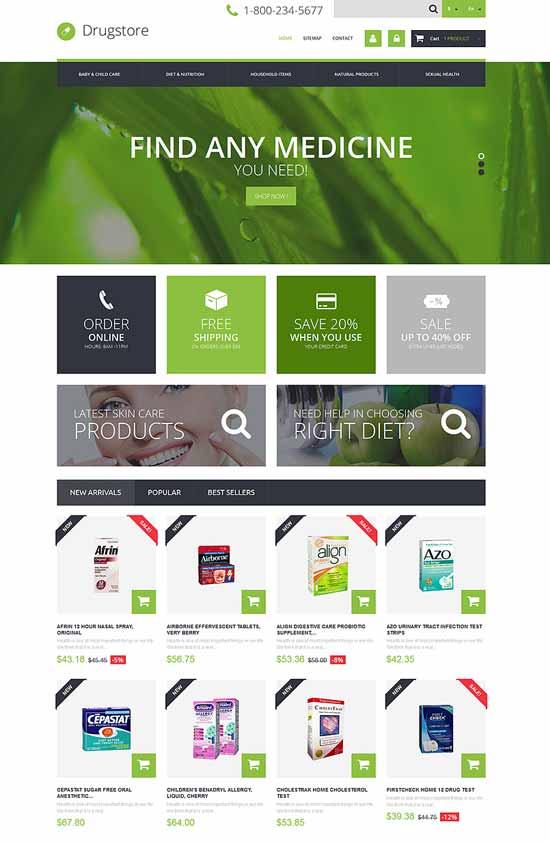 Drug-store-PrestaShop-Theme