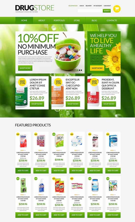 Drugstore-Responsive-WooCommerce-Theme