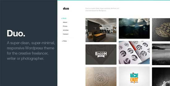 Duo-Unique-Minimal-Responsive-Wordpress-Theme