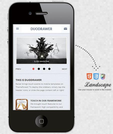 DuoDrawer-Mobile-Retina-WordPress-Version