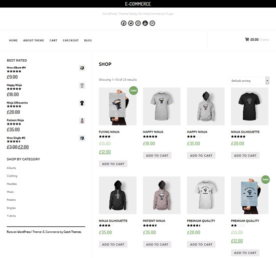 E-Commerce-minimalist-theme