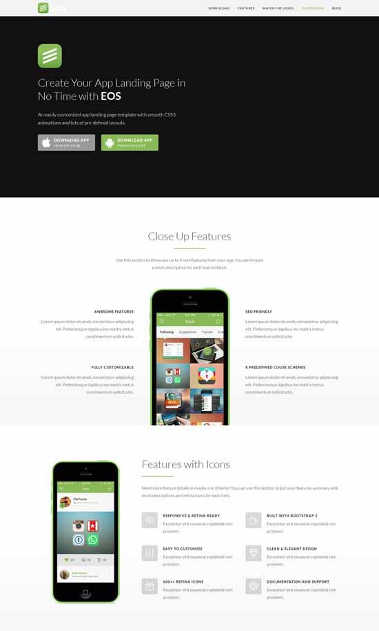 EOS-Responsive-App-Landing-Theme
