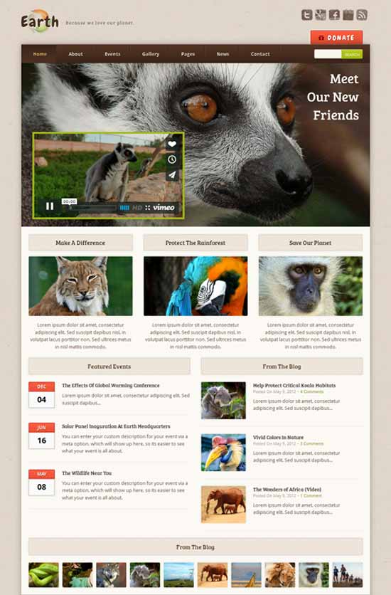 Earth-Environmental-NonProfit-WordPress-Theme