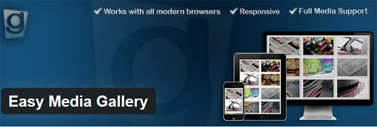 Easy Media Gallery Plugin