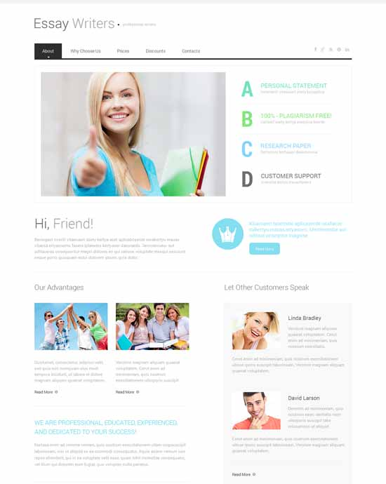 Easy-Writer-Book-Reviews-Responsive-Website-Template