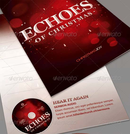 25 Best Christmas Brochure Templates Freshdesignweb