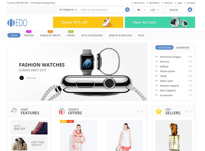 c2dd0bad9c 50+ Best Ecommerce Website Templates Free   Premium - freshDesignweb