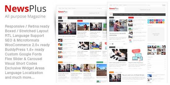 NewsPlus - Magazine/Editorial Theme