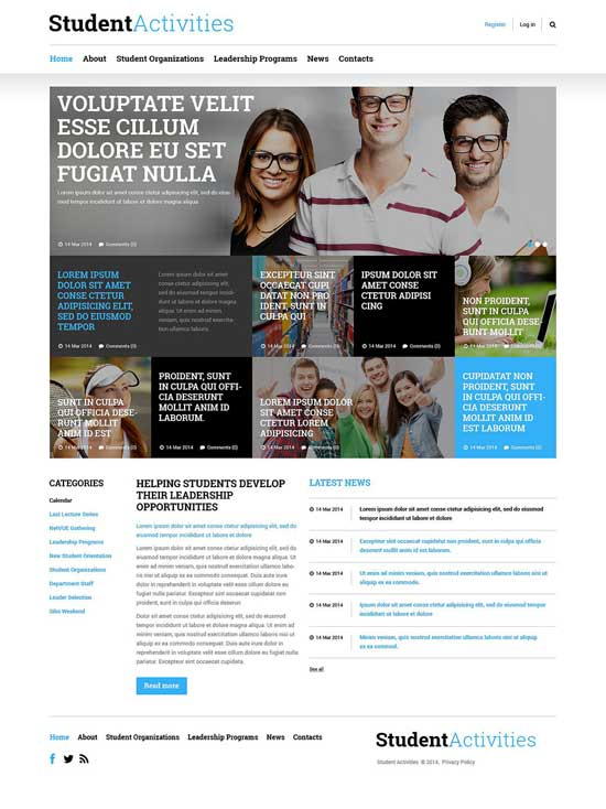 Education Responsive Joomla Template 52310