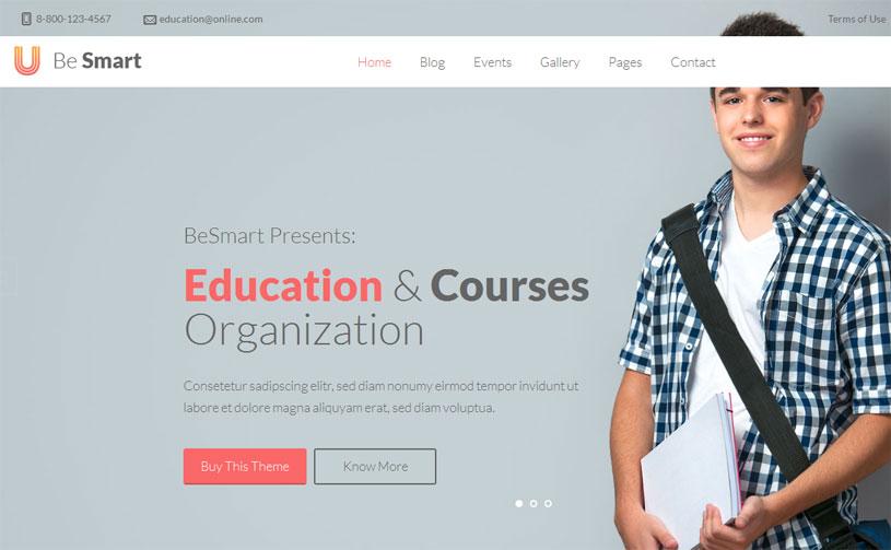 70 Best Education Website Templates Free Premium Freshdesignweb