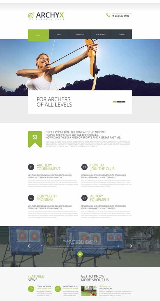 Effective-Sports-Website-Website-Template