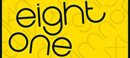 Eight One free fonts design