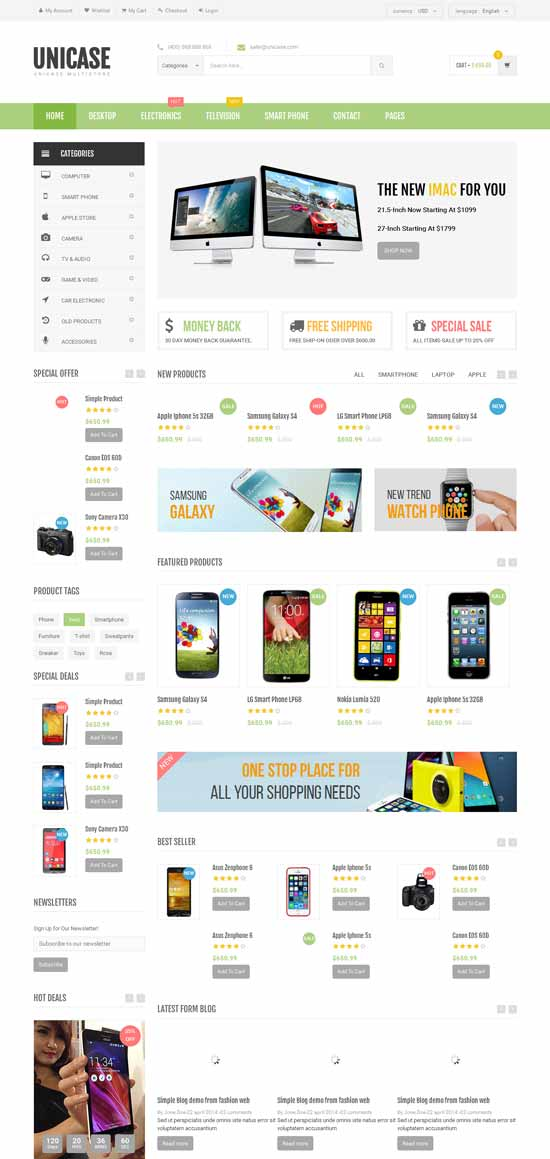 Electronics-eCommerce-HTML-Template
