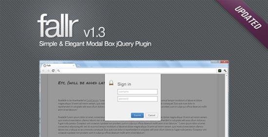 Elegant Modal Box jQuery Plugin