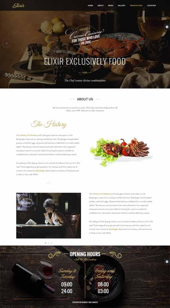 Elixir-Restaurant-HTML-Responsive-Template