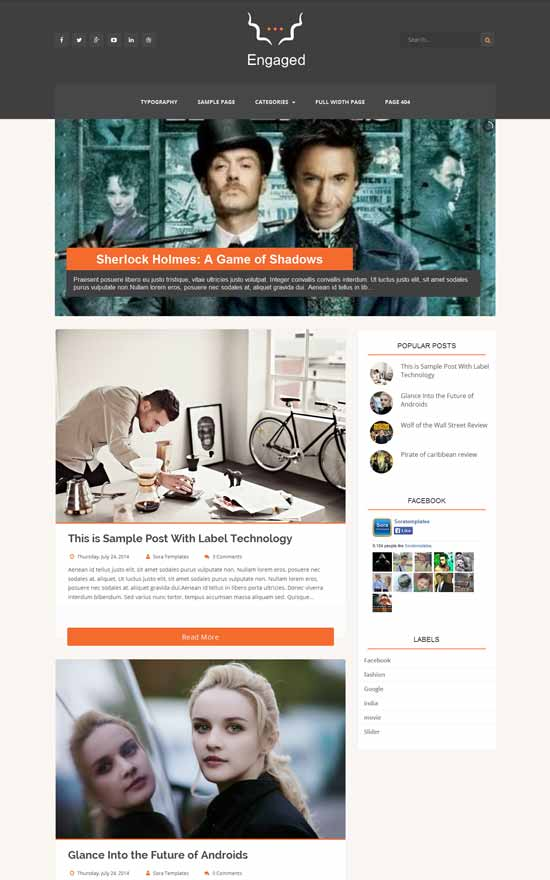 Engaged-Blogger-Template