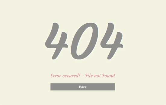 Error-404-Mobile-Website-Template