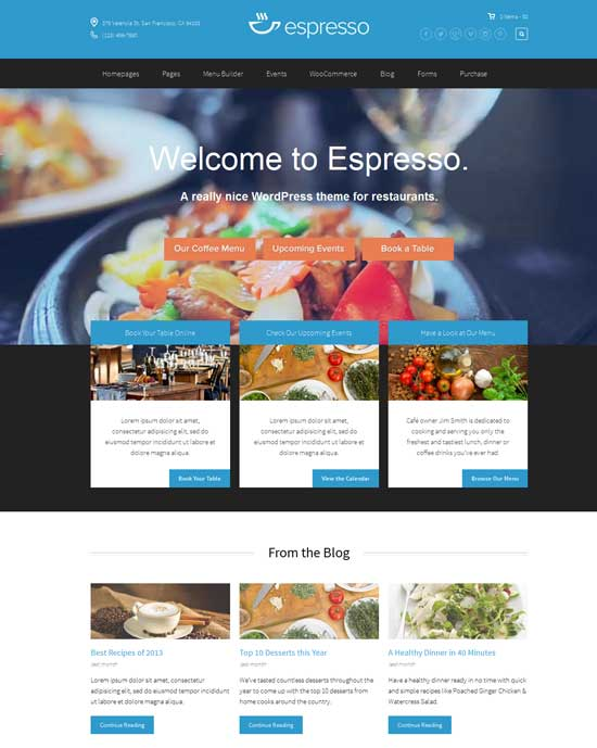 Espresso-WordPress-Theme-for-Restaurants
