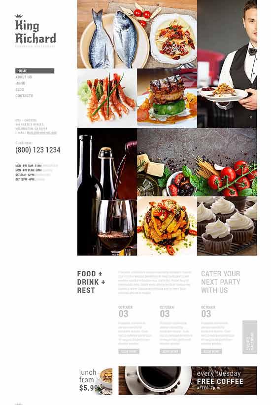 European-Meal-Joomla-Template